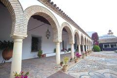 Vue de cour intérieure à Cordoue Photo libre de droits