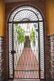 Vue de cour intérieure à Cordoue Image stock