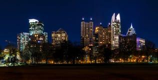 Vue de crépuscule de Midtown Atlanta, Etats-Unis Images stock
