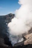 Vue de cratère de Bromo de bâti Photo libre de droits