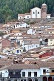 Vue de Cusco, Pérou Photographie stock libre de droits