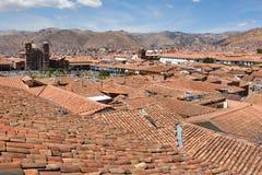 Vue de Cusco, Pérou Image stock