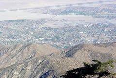Vue de désert Photos libres de droits