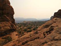 Vue de désert Photographie stock libre de droits