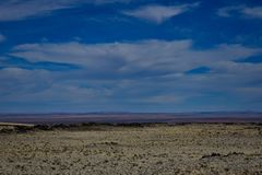 Vue de désert photos stock