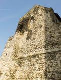 Vue de détail de château Bezdez photographie stock