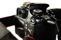 Vue de détail d'appareil-photo moderne de DSLR photos libres de droits