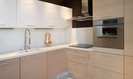 Vue de détail de cuisine Photo stock