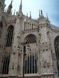 Vue de détail de Duomo Photos stock