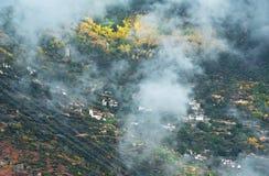Vue de Danba, Sichuan 2 Image stock
