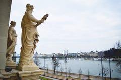 Vue de Danube Photos libres de droits