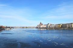 Vue de Danube Image stock