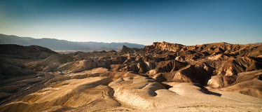 Vue de Death Valley Photo stock