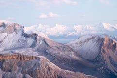 Vue de dolomites Image libre de droits