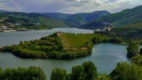Vue de Douro photo stock