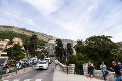 Vue de Dubrovnik Images libres de droits