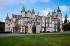 Vue de face de château de Balmoral, Ecosse Photos stock