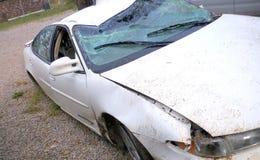 Vue de face détruite de Pontiac Image libre de droits