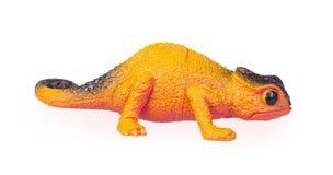 Vue de face de caméléon de jouet illustration de vecteur