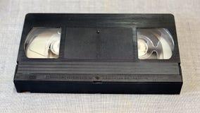 Vue de face de cassette de VHS Photographie stock libre de droits