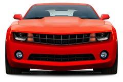 Vue de face de Chevrolet Camaro illustration de vecteur