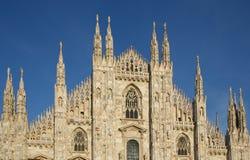 vue de face de domo de cathédrale Photographie stock libre de droits