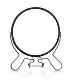 Vue de face de miroir de maquillage image stock