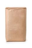 Vue de face de sac de papier brun vide photos libres de droits
