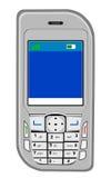 Vue de face de téléphone portable Images stock