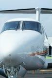 Vue de face des aéronefs Photo libre de droits