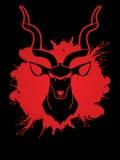 Vue de face principale de Kudu Image libre de droits
