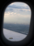 Vue de fenêtre Photographie stock libre de droits