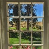 Vue de fenêtre images libres de droits