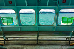 Vue de ferry Photo stock