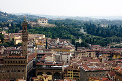 Vue de Firenze de dôme Photo stock