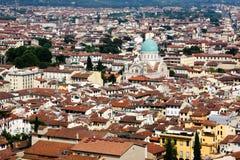 Vue de Firenze de dôme Photos libres de droits