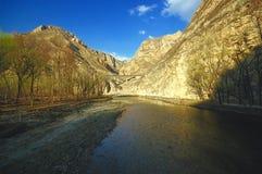 Vue de fleuve Image stock