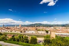 Vue de Florence, Italie Photos stock