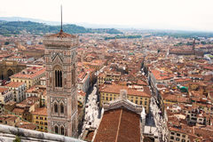 Vue de Florence, Italie Images libres de droits