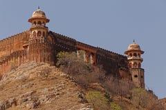 Vue de fort de Jaigarh d'Amer Fort Photos libres de droits