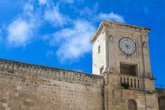 Vue de forteresse de Rabat (Victoria) (Gozo, îles maltaises) Images libres de droits