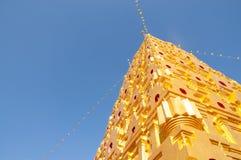 Vue de fourmi de pagoda d'or Photo libre de droits