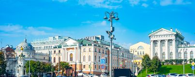 Vue de galerie de Shilov Moscou, Russie photographie stock libre de droits