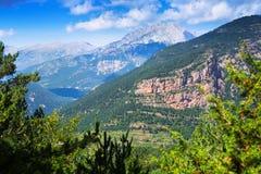Vue de Generak de paysage de montagnes Photo stock