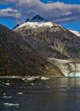 Vue 4 de glacier de Mendenhall Image libre de droits