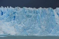 Vue de glacier de Perito Moreno de Calafate, Argentine Images libres de droits