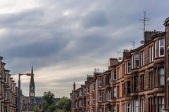 Vue de Glasgow centrale en Ecosse Image libre de droits