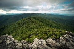 Vue de gorge de Linville Photo stock