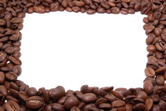 Vue de grains de café Image libre de droits