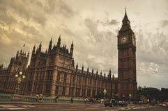 Vue de grand Ben Images stock